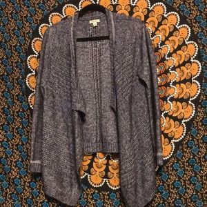 Lucky Brand Knit Open Cardigan Sweater